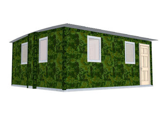 China Quick Assemble Earthquake Proof Modular Homes Bungalow / Emergency Portable Shelter supplier