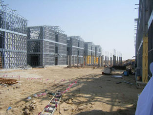 China Steel Frame Apartment Building / Typhoon Resistance Prefabricated Homes supplier