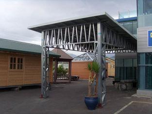China Light Steel Mobile Metal Car Garage Shed For Car Parking / Storage supplier