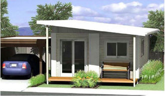 China Energy Saving Prefabricated Australian Granny Flats / Granny Flats For Holiday Living supplier