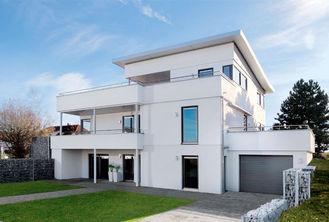 China Contemporary Modular Homes / Light Gauge Steel Prefab Villa / Prefabricated House supplier