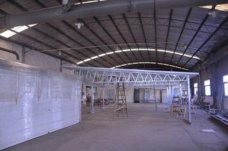 China Quick Installation Fireproof Metal Car Sheds , Light Steel Frame Metal Storage Sheds supplier