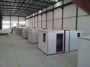 China High quality Foldable Portable Emergency Shelter / After-Disaster Housing / Sandwich Panel Housing supplier