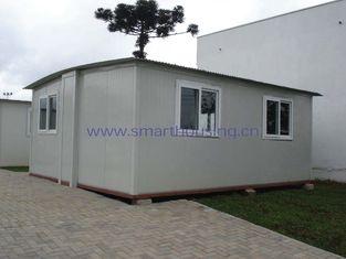 China Foldable Modular Prefabricated Housing / White Portable Emergency Housing supplier