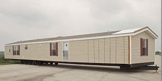 China Foldable Portable Mobile House / Double Wide Mobile Homes With Green Material supplier