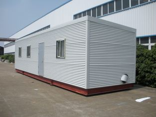 China High Insulation Eco Log Cabin Modular Homes , Green Prefab Modular Log Homes supplier