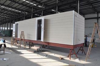 China Prefab Mobile Cabin House / Steel Frame Prefab Modular Homes For Guard House supplier
