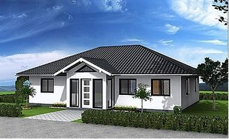 China Hurricane Resist Prefabricated Bungalow , Steel Structure Bungalow House supplier