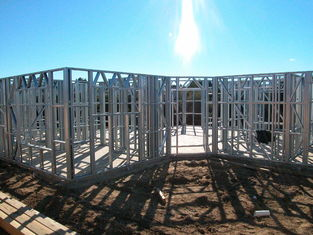 China Light Gauge Steel Framing House Structure , Quick Installation Light Steel Frame Housing supplier