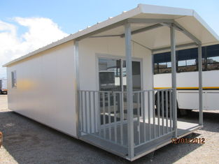 China Light Steel Prefab Container Homes / Prefabricated Home Kits For Living supplier
