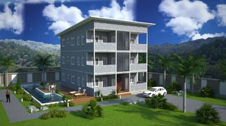 China SOHO Steel Structure Prefab Apartment Buildings supplier