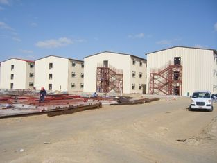 China Prefabricated Apartment Building , Steel Structure , Office Buildings supplier
