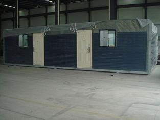 China Moistureproof Prefab Modular Homes Prefabricated Light Steel House Fireproof supplier