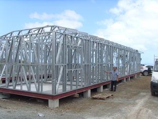 China Prefabricated Light Steel Frame Houses Moveable Hard Prefab House supplier