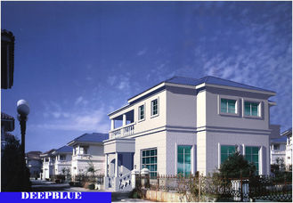 China European Style Prefabricated Villa / High Quality Light Steel Fame House supplier