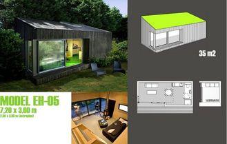 China Prefab Garden Studio For Office,Prefabricated Garden Studio In Garden supplier