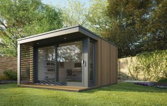 China Modern Accents Holiday Home / Prefabricated Garden Studio For Holiday Living supplier