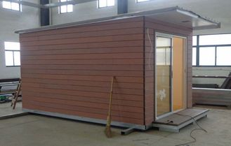 China Light Steel structure Holiday Home / Prefabricated Garden Studio For Holiday Living supplier