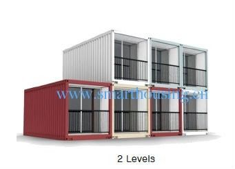 China ISO 40HQ Modular Prefab Container Homes , Water Proof Shipping Containers Homes distributor