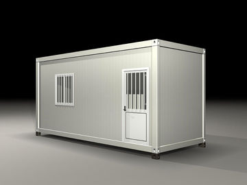 China Earthquake Resist Movable Shipping Prefab Container Homes With Solar Panel System distributor