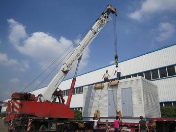 China Australian Mining Preferred Modern Modular Homes / Big Modular Log Homes distributor