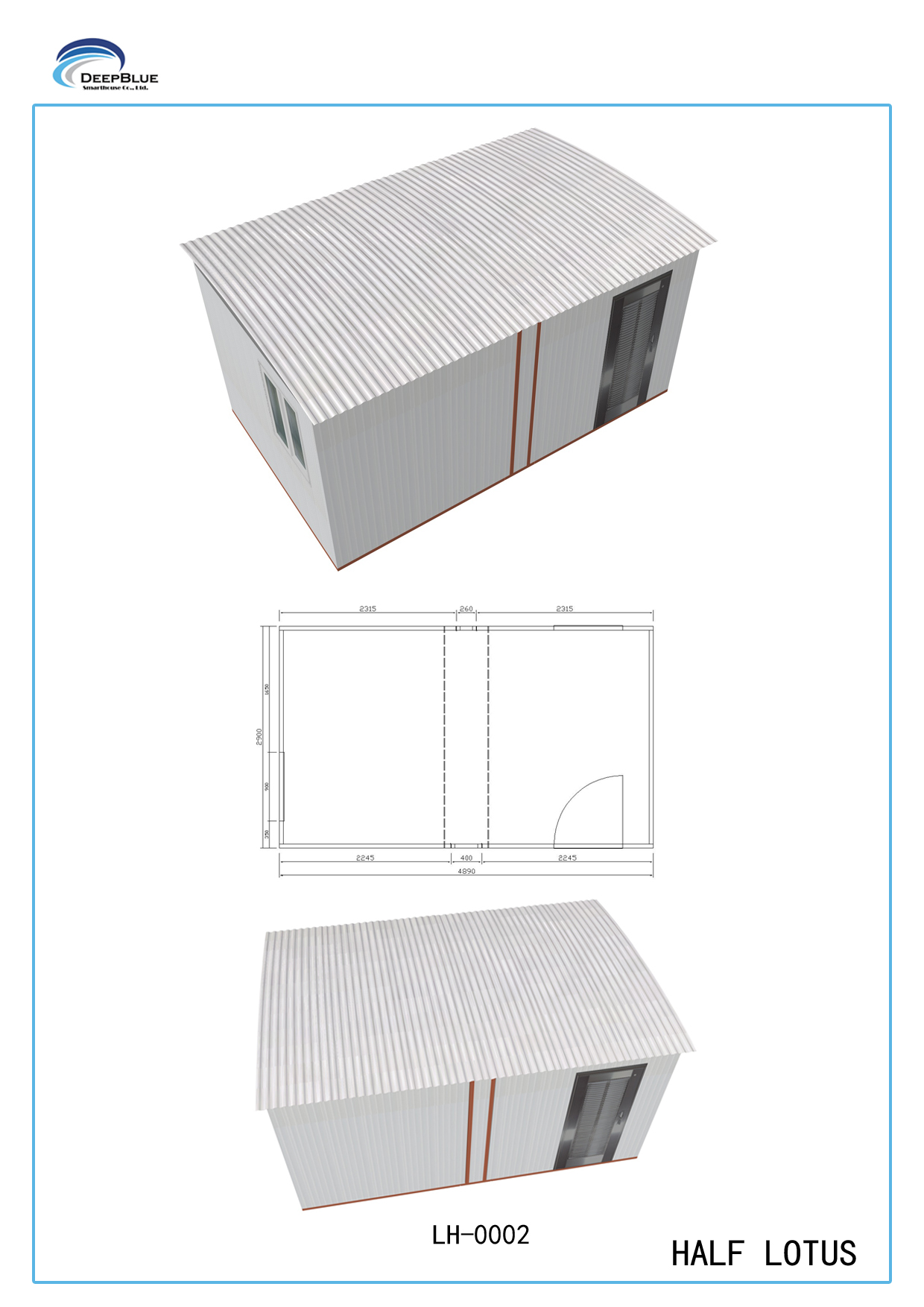 Foldable Portable Emergency Shelter /  after-disaster housing